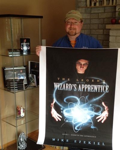 The Legend of the Wizard's Apprentice - book author (ME) - Mike Ezekiel