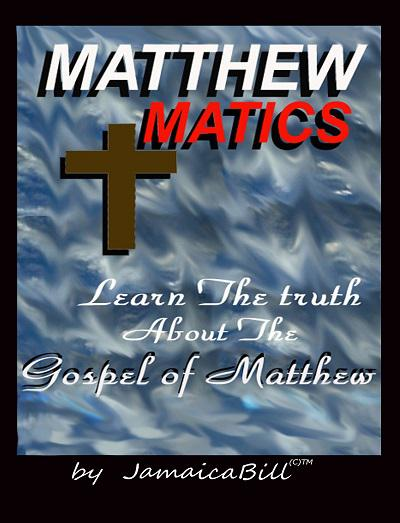 MatthewMatics - book author William