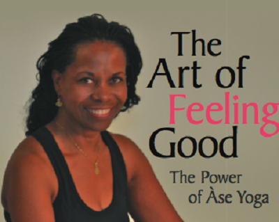 The Art of Feeling Good, The Power of Ase Yoga - book author Robbin