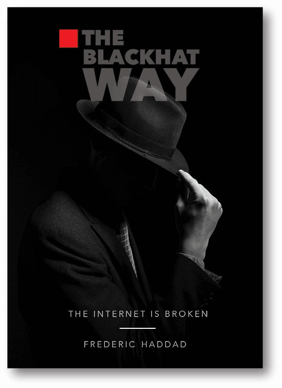 The Internet Is Broken: The BlackHat Way - book author Freddy