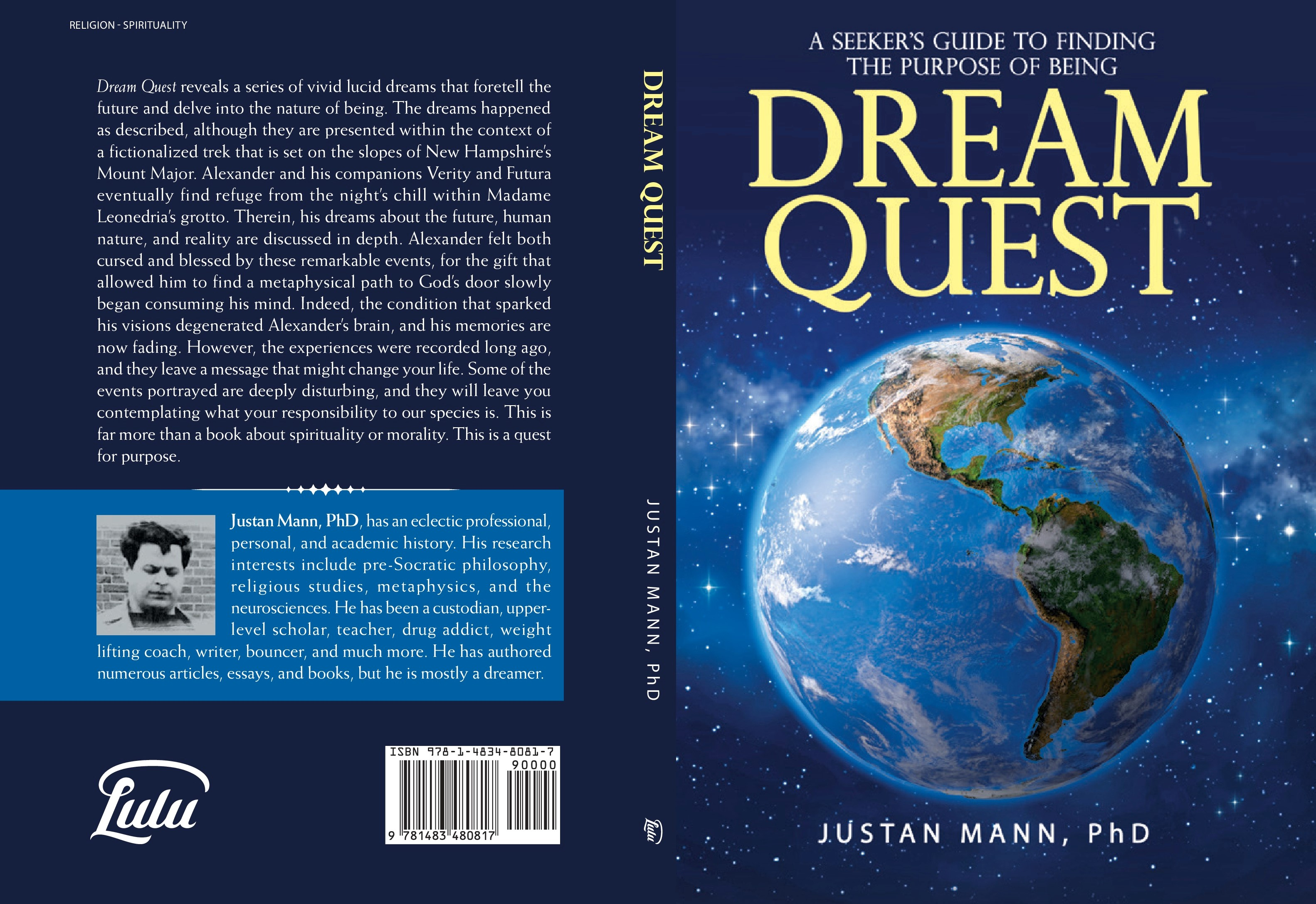 Dream Quest: A Seeker�s Guide to Finding the Purpose of Being