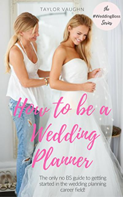 How to be a Wedding Planner - book author Taylor